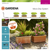 Gardena Micro-Drip-System Erweiterungsset Pflanztröge