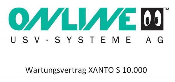 Online USV - Inspektionsvertrag XANTO S 10.000