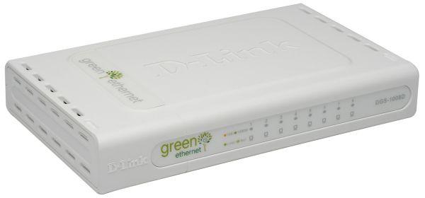 D-Link DGS-1008D 8-Port Gigabit Switch