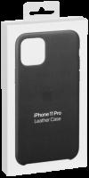 Apple iPhone 11 Pro Leather Case Midnight Blue MWYG2ZM/A